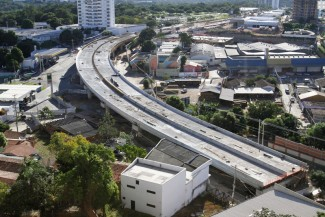 Viaduto do Despraiado entra na reta final de execu��o