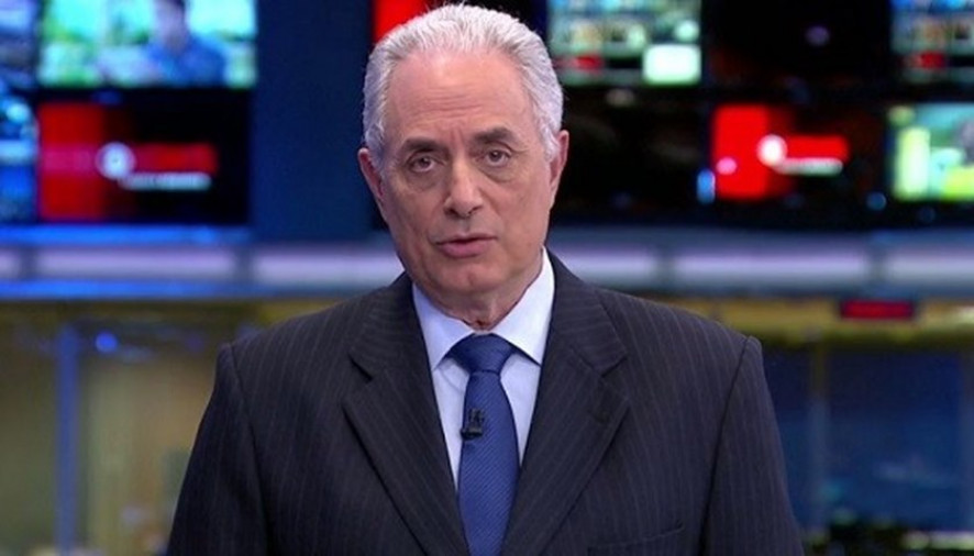 William Waack é acusado de racismo e vídeo viraliza na internet, assista