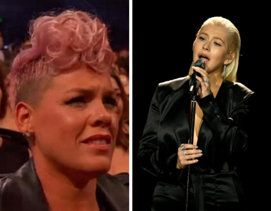 Christina Aguilera faz emocionante tributo a Whitney Houston nos AMA — Vídeo