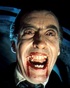 vampiro Christopher Lee